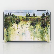 along Sainte Mary's Bay, Nova Scotia iPad Case