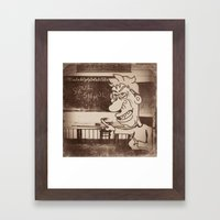 Skul Daze Framed Art Print