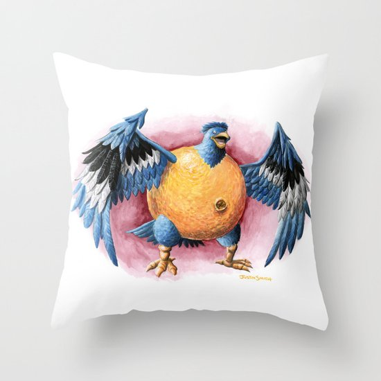 Can It Fly? Throw Pillow
