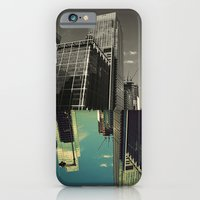 Canary Wharf - Poster, Art Print, Framed Art Print and Canvas  iPhone 6 Slim Case