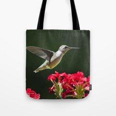 Hovering Hummingbird Tote Bag