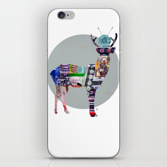 Deer Electric iPhone & iPod Skin