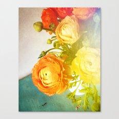 Her Heart Was Always Happy Canvas Print