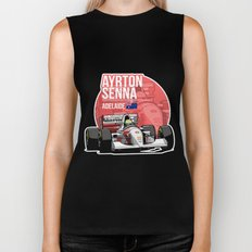 Ayrton Senna - 1993 Adelaide Biker Tank