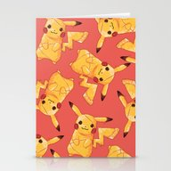 Pizzachu Stationery Cards