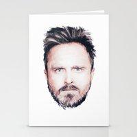 Aaron Paul Digital Portr… Stationery Cards