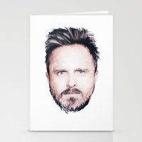 Aaron Paul Digital Portr… Stationery Cards