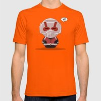 ChibizPop: Ant Mens Fitted Tee Orange SMALL