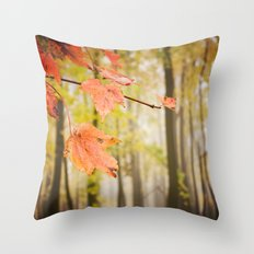 Autumn Fire Throw Pillow