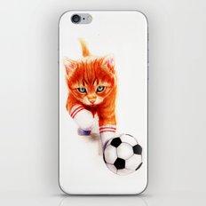 Soccer Kitty iPhone & iPod Skin