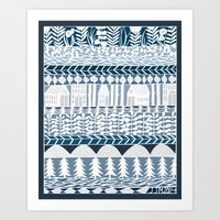 Rows And Rows Art Print
