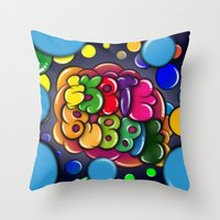 Skate 8u88le Throw Pillow