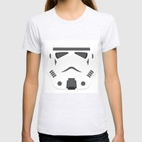 Storm Trooper - Starwars Womens Fitted Tee Ash Grey SMALL
