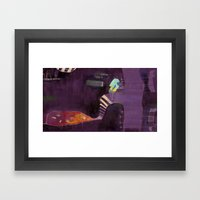 At dawn of time (2) Framed Art Print