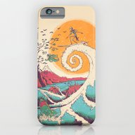Surf Before Christmas iPhone 6 Slim Case