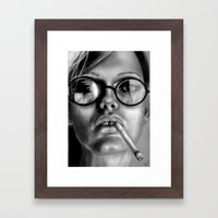 +Somewhat Damaged+ Framed Art Print