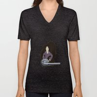 The Door Knob Lady Unisex V-Neck