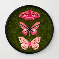 Lepidoptery No. 7 By And… Wall Clock