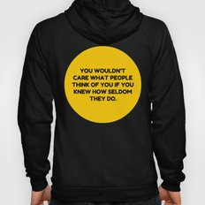 Don't Be Afraid To Do You. Hoody