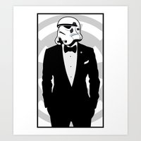 Slick Trooper Art Print