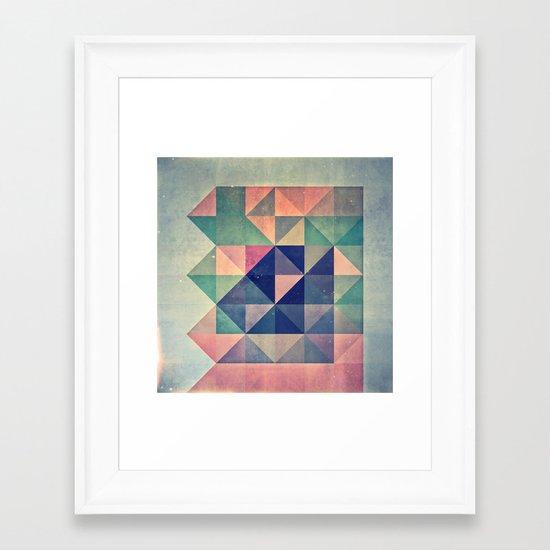 chyym xryym Framed Art Print