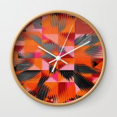 Blue For You / Pattern #8 Wall Clock