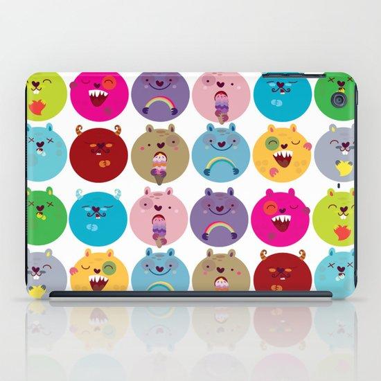 Cute bunnyballs iPad Case