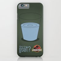 Jurassic Park  ¿Where's the goat? iPhone 6 Slim Case