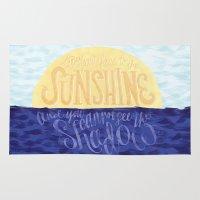 Face the Sunshine Rug