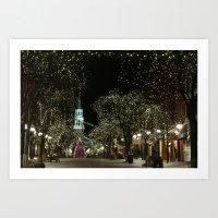 Church Street, Burlingto… Art Print