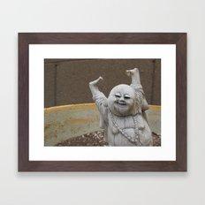 Buddha Party Framed Art Print