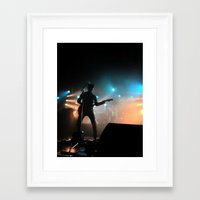 Alex Turner // Arctic Monkeys Framed Art Print