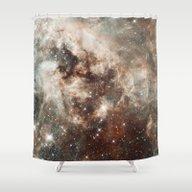 Cloud Galaxy Shower Curtain