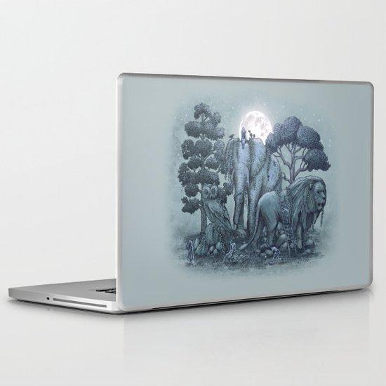 Midnight in the Stone Garden (colour option) Laptop & iPad Skin