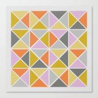 Hip Square Canvas Print