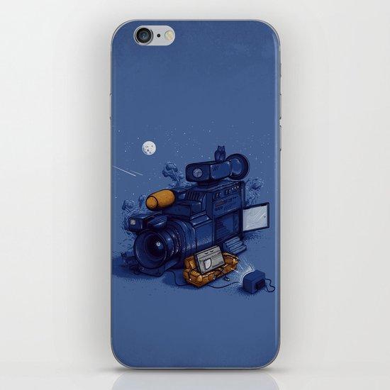 Movie Break iPhone & iPod Skin