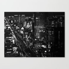Dark Depths of Las Vegas Canvas Print