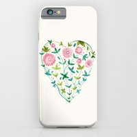 iPhone & iPod Case featuring garden heart by MEERA LEE PATEL