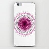 Simple Mandala Model iPhone & iPod Skin