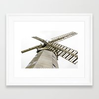 Upminster Windmill Framed Art Print