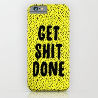 Get Shit Done 1980s 1990… iPhone 6 Slim Case