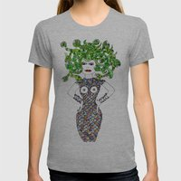 MEDUSA versus BRIGITTE BARDOT Womens Fitted Tee Athletic Grey SMALL