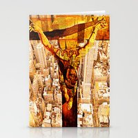 jesus Stationery Cards featuring Jesus by Ganech joe