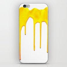 Yellow Splatter iPhone & iPod Skin