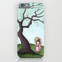 iPhone & iPod Case featuring Japanese Cherry Tree by Arianna Usai