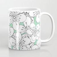 Cherry Blossom With Mint… Mug