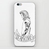 Team Curls iPhone & iPod Skin