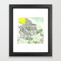 spiders from mars Framed Art Print