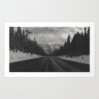 December Road Trip in the Pacific Northwest Art Print