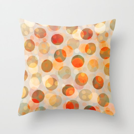 GOLDEN DAYS OF SUMMER Throw Pillow